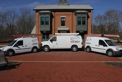 <strong>Shawnee Heating & Air LLC</strong><br>Company Vans